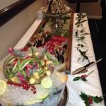 Christmas Buffet Desserts