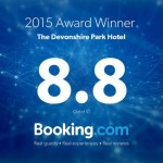 8.8 Booking.com Award