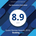Booking.com Award 2016 8.9 out of 10
